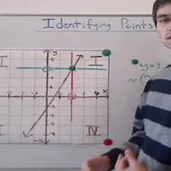 Identifying Points on a Line