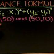 Applying the Distance Formula