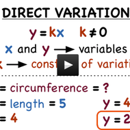 Virtual Nerd - Direct Variation Tutorial   Sophia Learning
