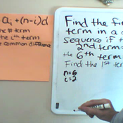 Finding the Common Difference from Two Terms