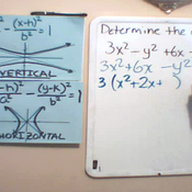 Determining the Center of a Hyperbola