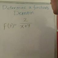 Determining the Domain
