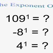 The Exponent One