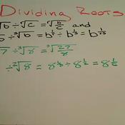 Dividing Roots