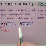 Multiplication of Roots