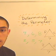 Calculating the Perimeter of a Triangle