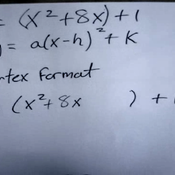 Applying the Vertex Formula