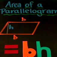 Formula for the Area of a Parallelogram