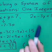 Solving Simultaneous Equations and Inequalities