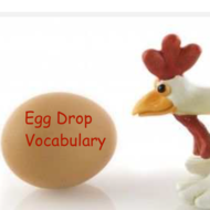 Egg Drop Vocabulary