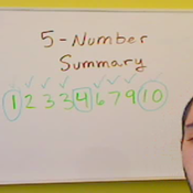 Calculating a Five Number Summary
