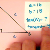 Determining Tangent in Context
