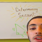 Determining Secant in Context