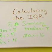 Calculating the Interquartile Range