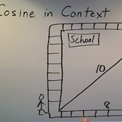 Determining Cosine in Context