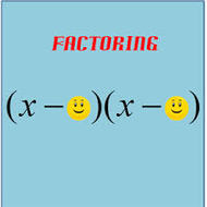 Factoring Day 2: when a = 1