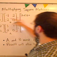 Multiplying Square Matrices