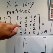 Multiplying Two Large Matrices
