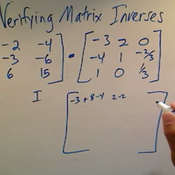 Verifying that Matrices are Inverses