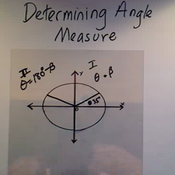 Determining an Angle Measure