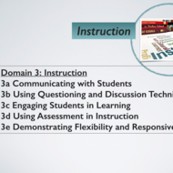 The Danielson Framework as an Instructional Lens