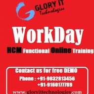 Live Instructor Led Workday HCM Functional Online Training