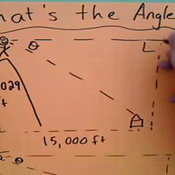 Determining the Angle of Depression