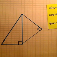 Adjacent Right Triangle Problems