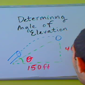 Determining the Angle of Elevation