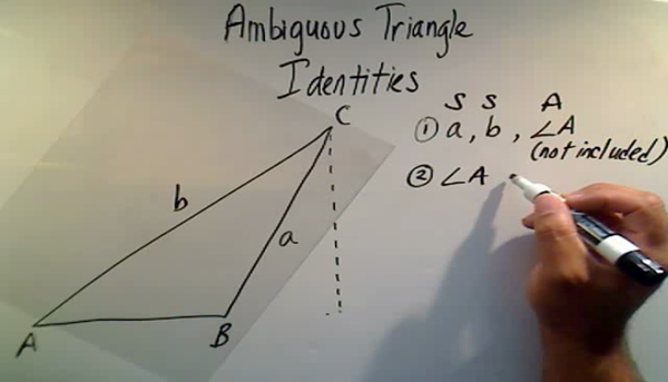 Ambiguous Triangle Identities