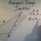 Ambiguous Triangle Identities