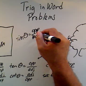 Using Trigonometry in Word Problems