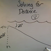 Solving for a Distance