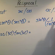Simplifying Through Reciprocals