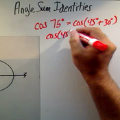 Applying Angle Sum Identities