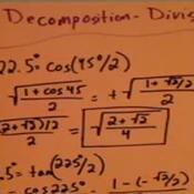 Decomposing Angles Using Division