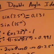 Applying Double Angle Identities