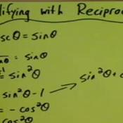 Simplifying Through Reciprocals