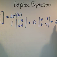 Laplace Expansion