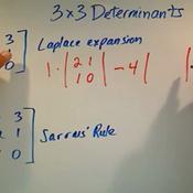 3 x 3 Determinants