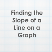 Finding the Slope of a Line on a Graph