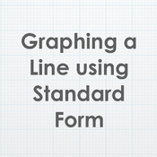 Graphing a Line using Standard Form