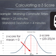 Calculating z-Scores