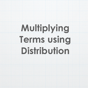 Multiplying Terms using Distribution