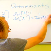 Finding the Determinant of an Inverse Matrix
