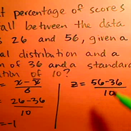 Calculating the Percentage Between Two Data Points