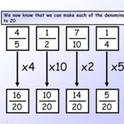 1-7-16 Ordering Fractions FHW