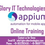 Appium Mobile Automation Testing Online Training