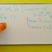 Determining the Focus and Directrix