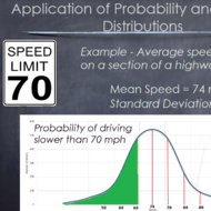 Normal Distributions and Probability